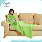 TV comfortable snuggie blanket with sleeves