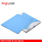 Hard shell + pu smart back cover case for ipad 2 3 4