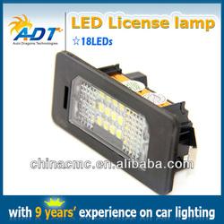 LED License Plate Lamp, LED trunk light, LED luggage light for BMW E39 E88 E92 E93 E46 CSL car accessories