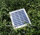 High efficiency solar pv module,epoxy resin encapsulation solar panels 3 watts with frame
