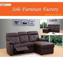 attractive recliner corner sofa