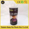 Plastikröhrchen container, custom kunststoffzylinder box-verpackung, klarem pvc kunststoff-koffer