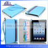 Sky Blue PU Tablet Case For iPad mini Best Brand Mobile Phone Leather Case