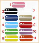 colorful parts for iPhone 5 back rear glass top bottom panel replacement