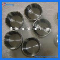 Baoji Tianbang Manufacturers Low Price ASTM B381 Titanium Melting Crucible For Hot Sale