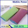 CE/RoHS/FCC shake power banks 20000mAh dual usb mobile power pack