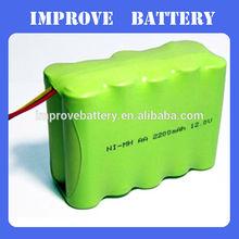 Shenzhen battery aa 12v 2200mah nimh battery pack for power tool