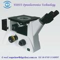 Medición de visión infinito corregido microscopio metalúrgico invertido
