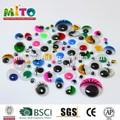 de plástico círculo de los ojos en movimiento de bricolaje juguetes animales wiggly los ojos