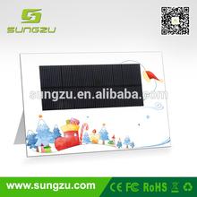 2014 Portable 2.5W mono crystalline Solar Panel Charger
