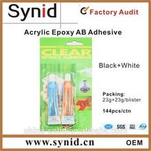 Ab colla epossidica/adesivo resina in siringa da 25ml