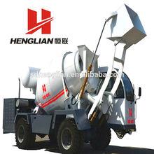 self loading concrete mixer ,1m3 concrete yield per batch for sale