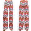2014 new design wholesale wide leg women chevron pants