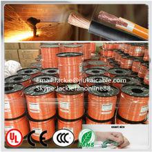 2014 de cobre Flexible de goma o con aislamiento de PVC de goma cable de soldadura de goma cable de soldadura de soldadura por arco transformers