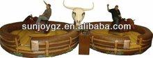 double sports game iinflatable mechanical bull rodeo
