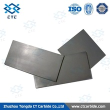 Customized tungsten carbide plate blanks with raw material