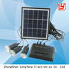 Portable solar electricity generator system for home 4W