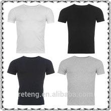 High Quality Mens Plain T Shirt ,Mens Adults T Shirt Gym Running Fitness Exercise Sport Top