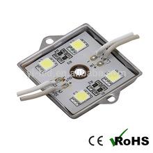 12V waterproof RoHS, CE metal base 5050 smd led modules 4 LEDs
