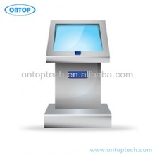 customized totem lcd display, multimedia touch screen kiosk