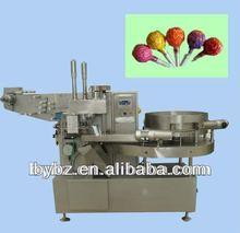 YB-350 automatci high speed mix Fruit Pop Lollipop making packing &wrapping machine
