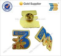 2014 years high quality custom design KFC 3VS3 basketball sport logos imitation enamel metal badge pins