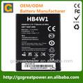 batería del teléfono móvil para huawei hb4w1