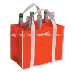 FH 6 Bottle Non Woven Wine Bag
