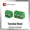 Sanhe connector Manufacture PCB screw terminal block 5.0/5.08mm