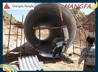 nested large diameter corrugated drainage pipe
