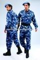 bdu color azul camo británica de uniforme militar