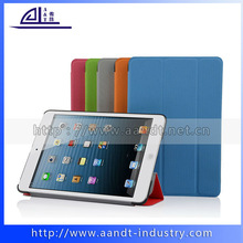 Ultra thin pu cases for iPad mini leather cover