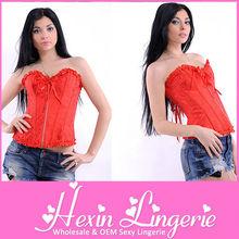 wholesale women sexy busty corset lingerie