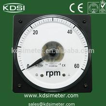 LS-110 analog speed meter of the ship