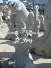 grey granite stone Eagle sculpture carving modeling lion stone