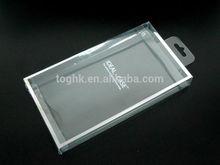 Custom plastic box, Golden cell phone case packaging