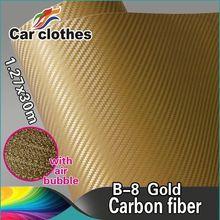 New 3D Carbon Fiber Vinyl Foil Film