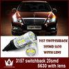 high quality and lumen 3157 led bulb 20smd car bulb