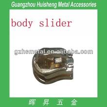 Fashion Design Alloy made light gold body slider