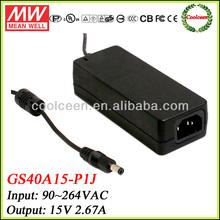 Meanwell GS40A15-P1J 15v desktop adapter