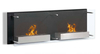 Wall Mounted Stylish Indoor Real Frame Ethanol Fireplace