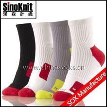 Yellow Jacquard Socks Basketball