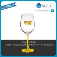 colored red wine glass hot sale wine glasses