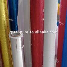 Pvc mode belle wall sticker papier
