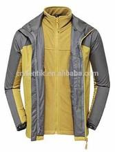 Men's Jacket with Inner jacket Waterproof Windproof Breathable