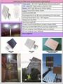 الطاقة الشمسية والرياح أدت أضواء الشوارع للطاقة الشمسية ضوء الشارع السعر 60w 14443a nfc بطاقة iso