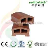 HOHEcotech Anti-UV WPC Decorative Garden Railing /Handrail /Post