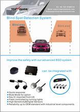 Sensitivity adjustable Auto Safety Bus Blind Spot Assist