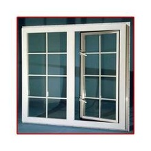 Para dentro abertura PVC janela casa designs, Grills para windows modelos