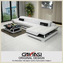 Mobilias na Namibia, moderni in pelle divano del soggiorno set g8004c
